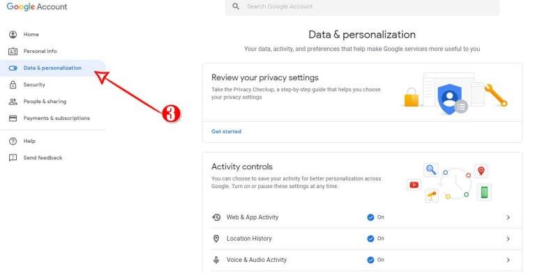 Google Data & Personalization