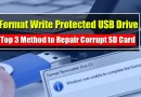 format write protected usb flash drive