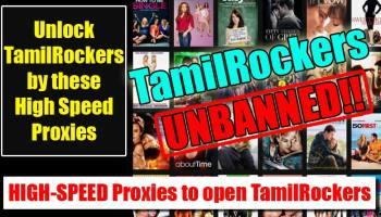 TamilRockers Blocked, Try Alternate TamilRockers Domain[1 July 2019]
