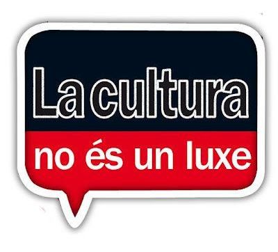 La cultura no és un luxe