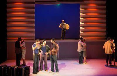 El hijo del acordeonista - Teatro Valle-Inclán.