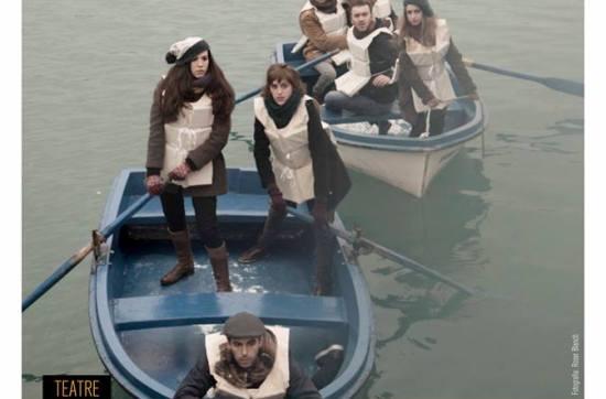 Ronda naval sota la boira - Els Pirates