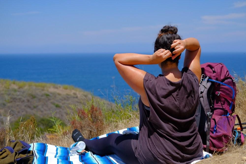 ocean view hike