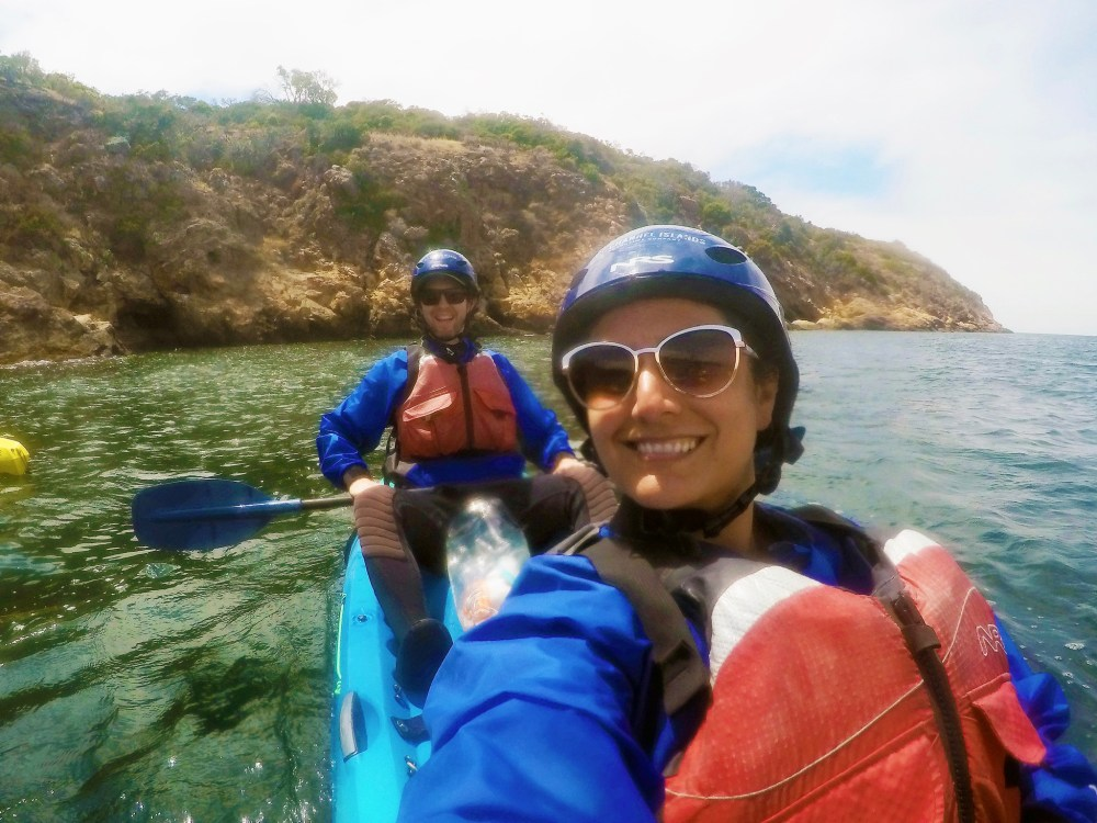 kayaking channel islands