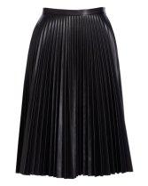 Bagatelle Leather Skirt