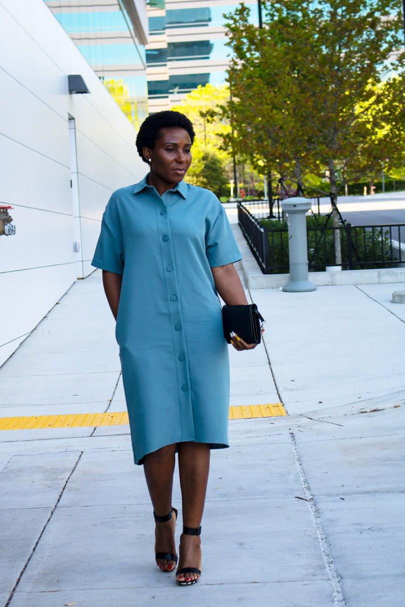 Wearing: Prologue Dress || Calvin Klein Sandal ||
