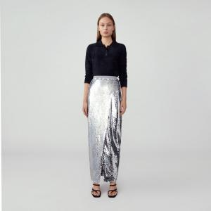Fame-and-partner-sequins-pencil-skirt