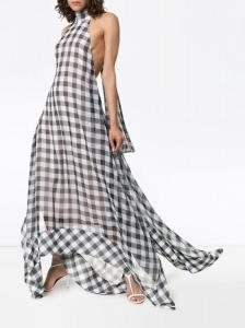 Solace-London-Gingham-Dress