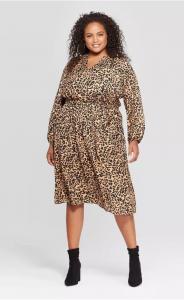 Target Plus Sixe Leopard Print Dress