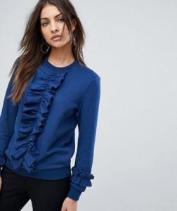 Ruffle front Sweatshirt; Y.A.S. Parisa, $51 @ASOS