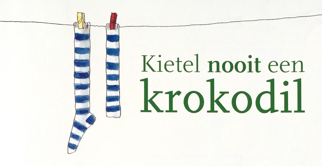 Kietel-nooit-een-krokodil-boek