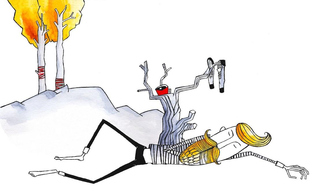 Illustration picture book 'SSST!'