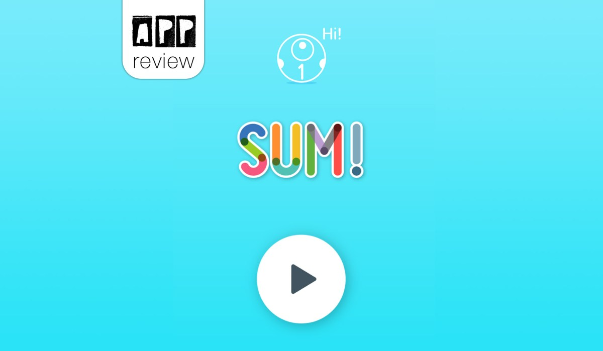 App-review: SUM! - Math with loveable numbers