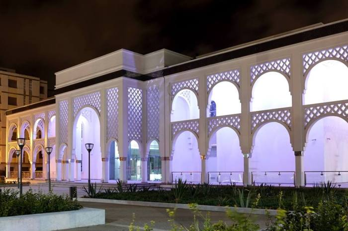The Museum Mohammed VI of Modern and Contemporary Art (MMVI) in Rabat, Morocco opened its doors in October 2014. Photo courtesy of MMVI