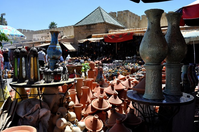 Souk in Morocco, Photo credit: Frederic Potet, flickr