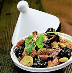 Moroccan Tagine of Lamb and Prunes