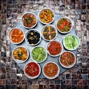 Moroccan Salads by la Mamounia