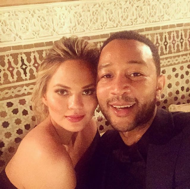 John Legend first selfie of 2016 in Morocco