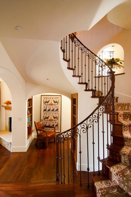 Mediterranean Staircase, Image Source: Houzz