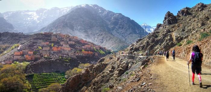 Trekking in the Atlas Mountains, Image: E. Crespo, Flickr