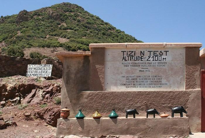 Tizi n' Test pass, Morocco. Photo: xhitsthespot, Flickr