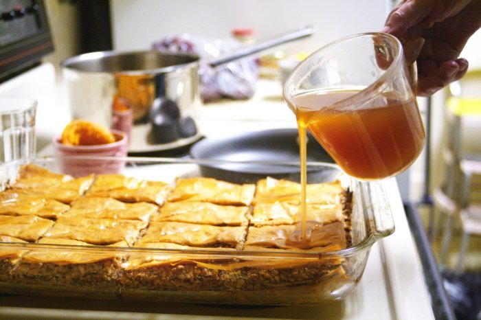 Making Baklava, via Flickr