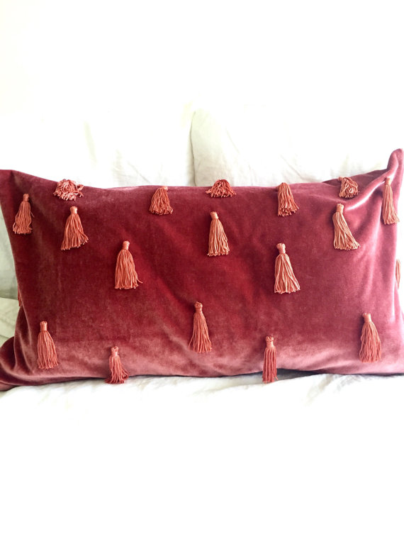 Moroccan Velvet cushion, shop this item HERE