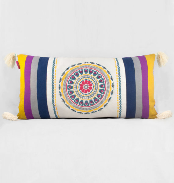 Morrocan inspired/style - embroidered Cushion, Shop this item HERE