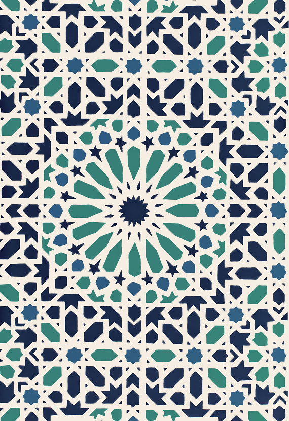 Moroccan Wallpaper 10 Design Ideas Youll Love to Have SO MOROCCAN