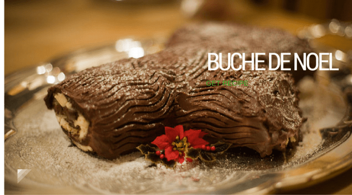buche-de-noel-recipe, Photo via Flickr
