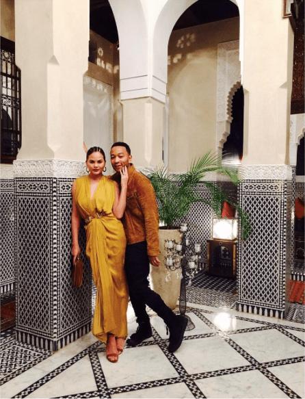John Legend and Chrissy Teigen Morocco travel With Baby Luna