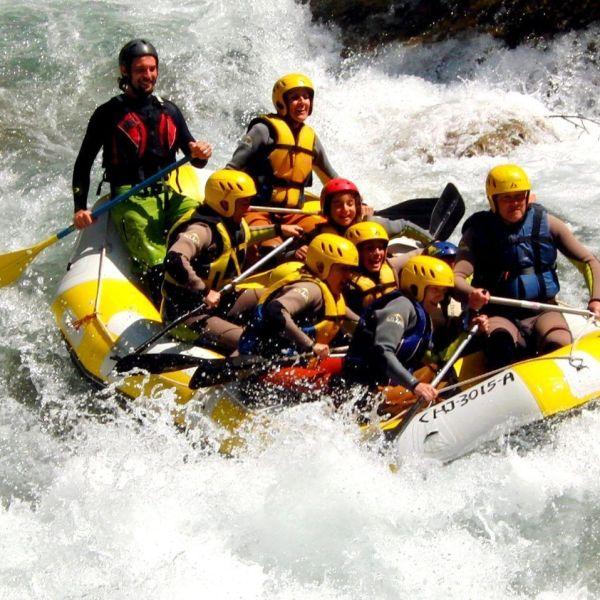 Rafting Montanejos 4 Pep paso de la grada