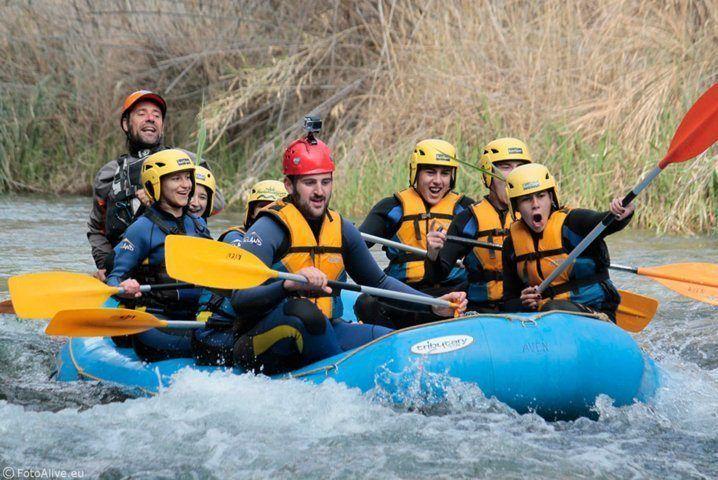Rafting en Valencia río Cabriel