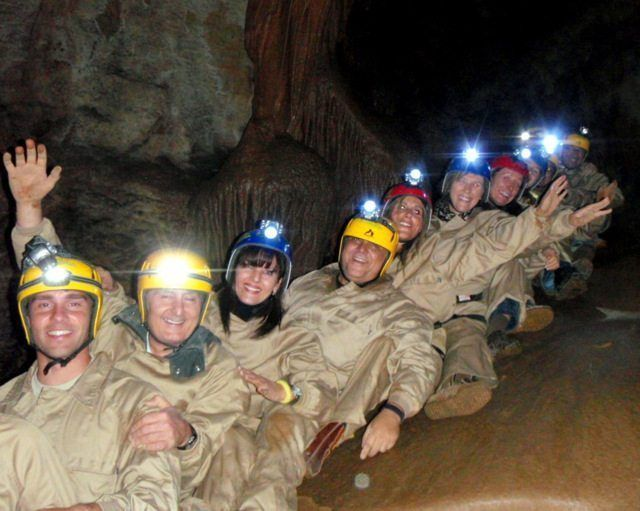 Cueva Cirá en grupo con Somos Aventura