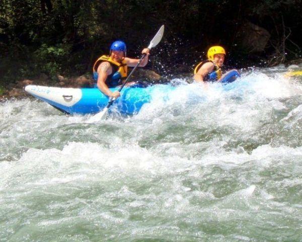 Kayak doble aguas bravas