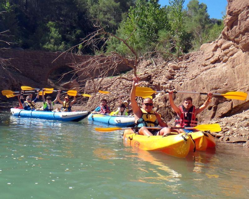 Kayak viaje fin de curso 2