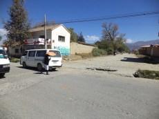 Acceso a Barrio Lazarte desde Av. Simón I. Patiño