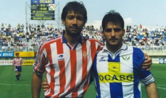 Mesas y Pedro Largo en su vuelta a Butarque.