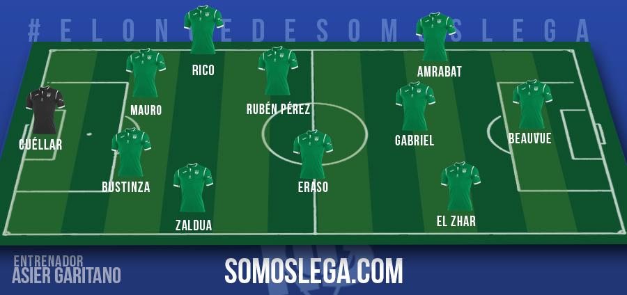 ONCE-SOMOSLEGA-17-18 La posible alineación del Leganés, según SomosLega - Comunio-Biwenger