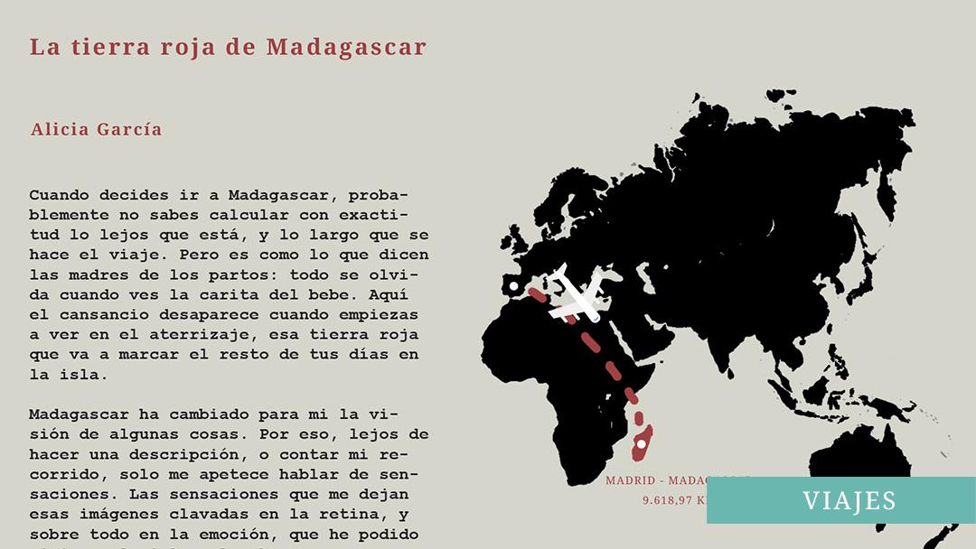 La tierra roja de Madagascar