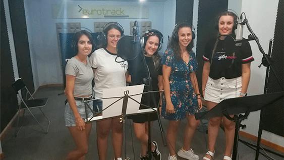 Jóvenes del Coro Emaús, de Elche, Alicante.