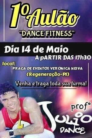 1º aulão dance fitness