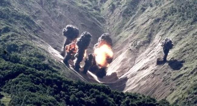 bombardeiros americanos coreia do norte coreia do sul