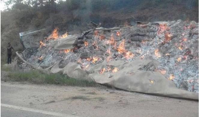 treze mortos minas gerais tragédia minas gerais ônibus caminhão