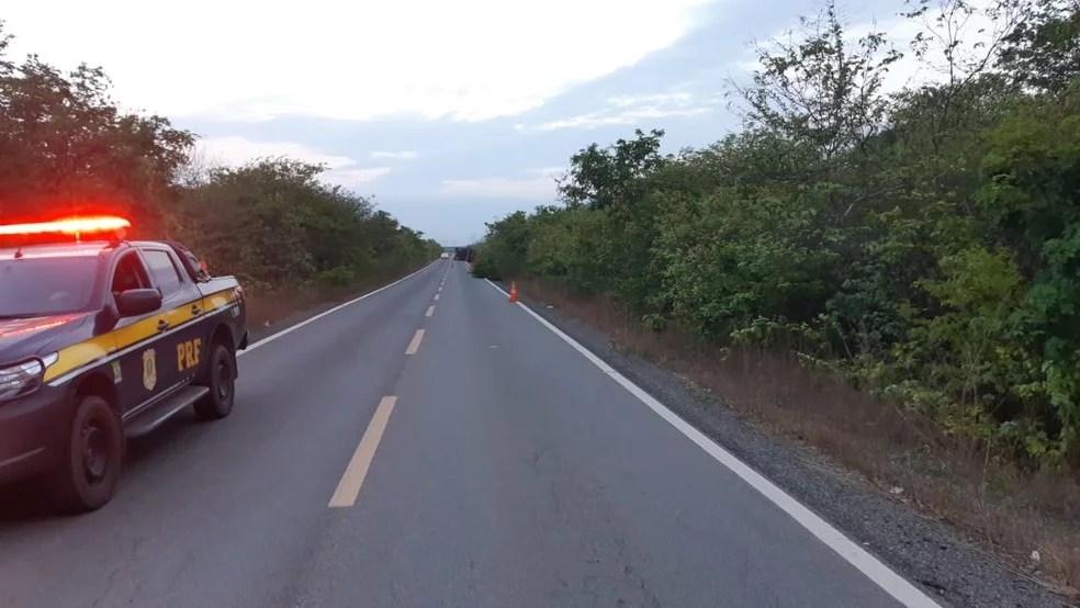 atropelamento de idoso de 76 anos em Piripiri