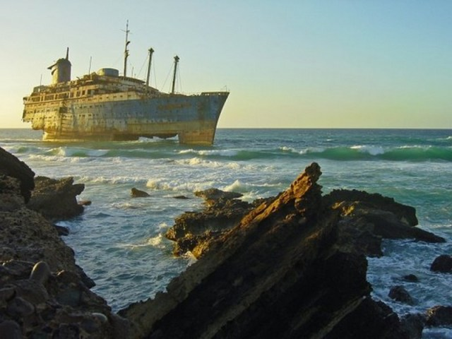 El barco fantasma de Fuerteventura - Sitios abandonados