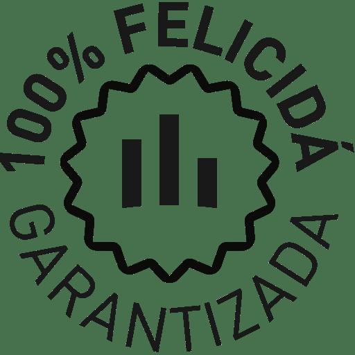 sello felicidad garantizada verticales sello