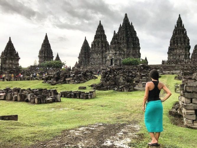 Templo Prambanan en Java