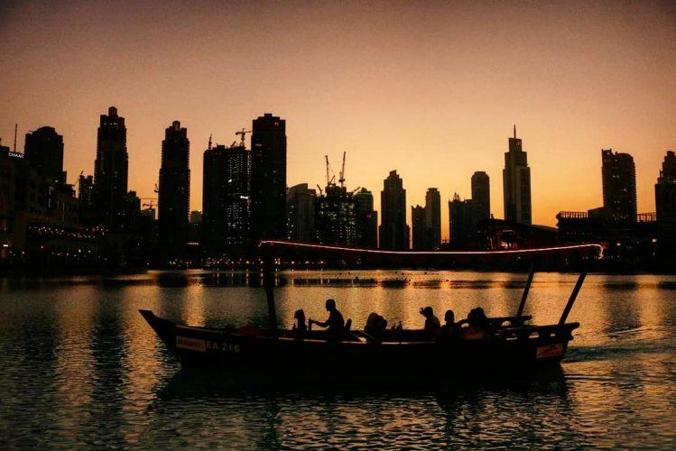 Atardecer Dubai