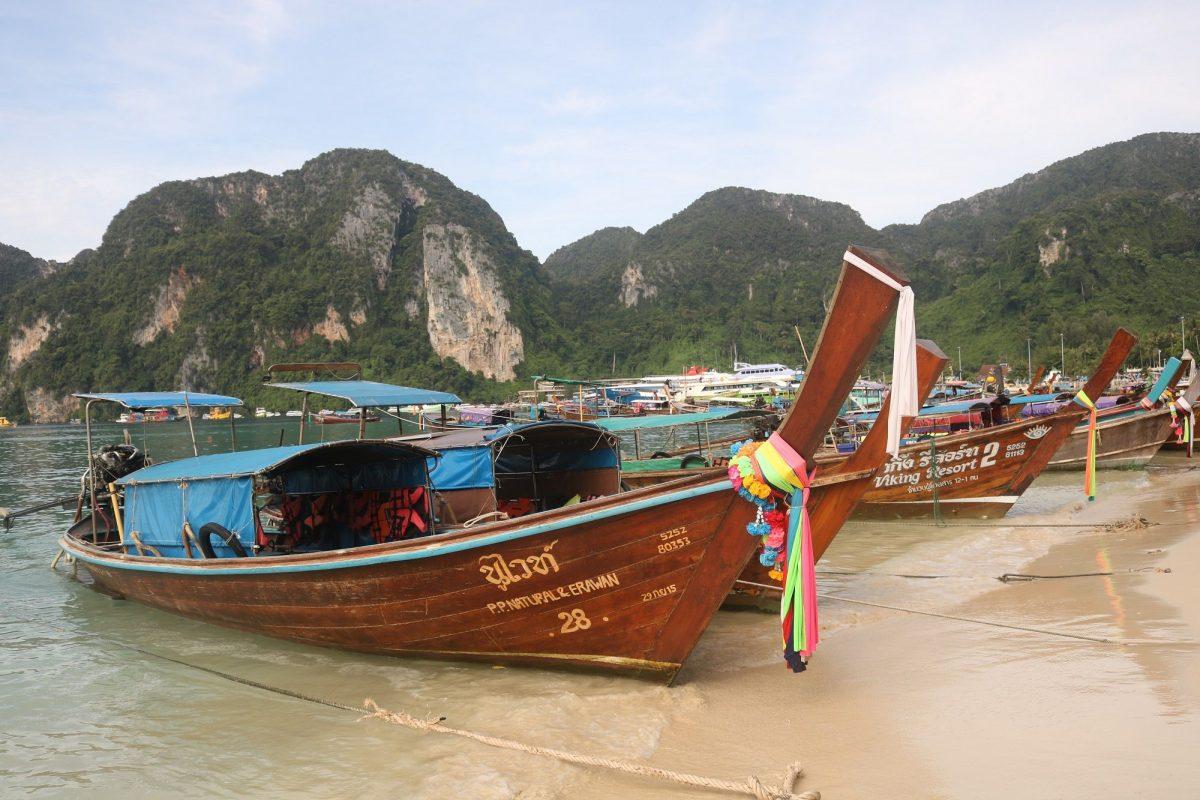 Botes tradicionales Tailandia